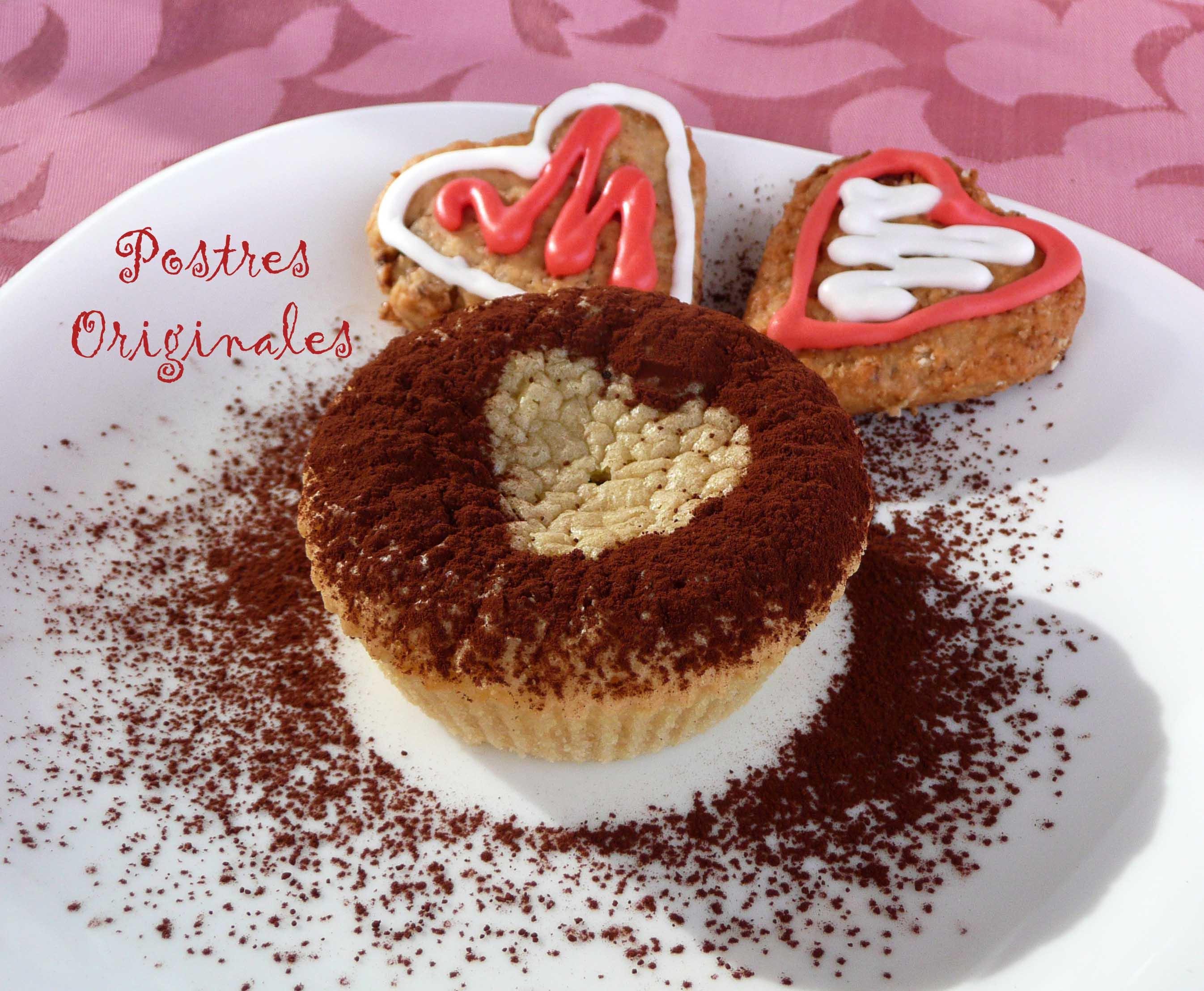 Cupcakes de brownie de chocolate blanco y oreo 9 postres for Postres sencillos y originales