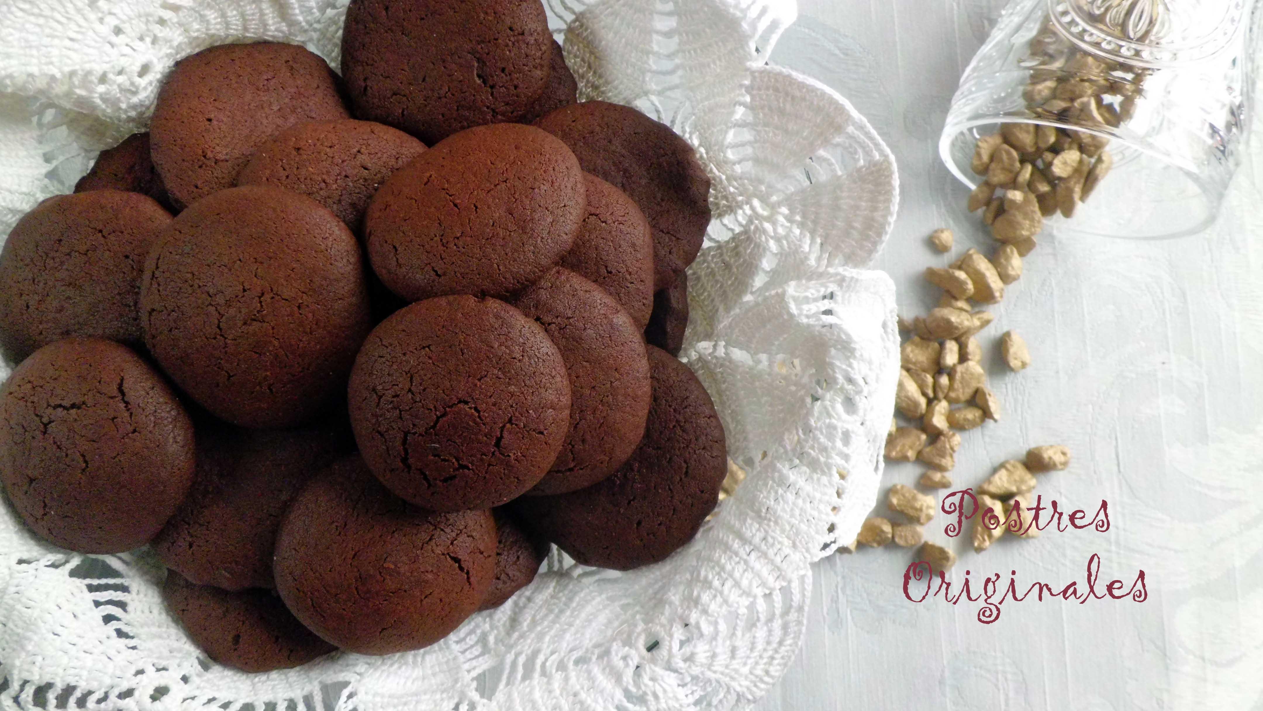 Galletas de chocolate 3 postres originales for Postres sencillos y originales