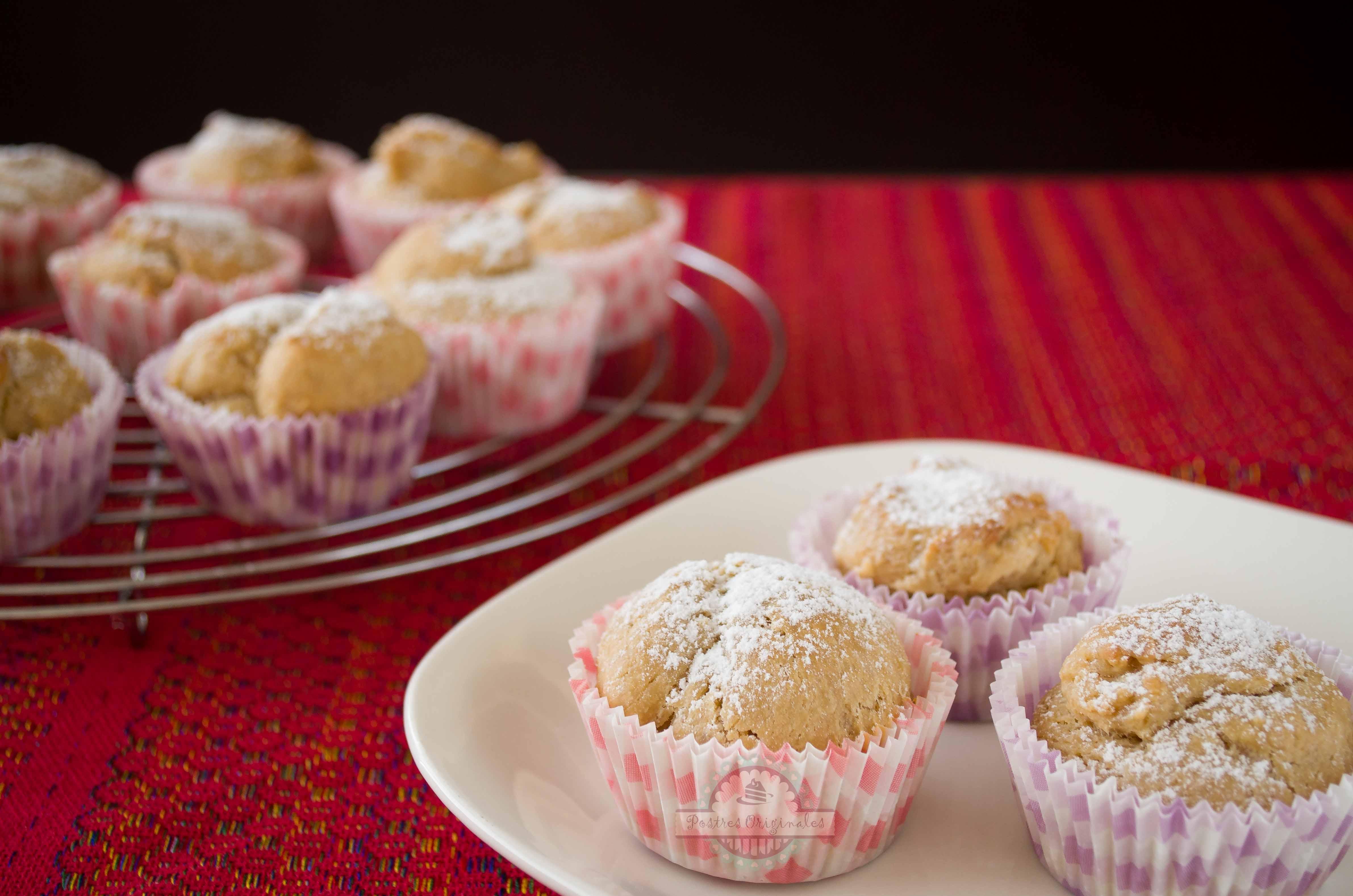 Muffins de turr n que huelen a navidad postres originales for Postres para navidad originales