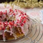 Bundt Cake de Granada Sin Gluten