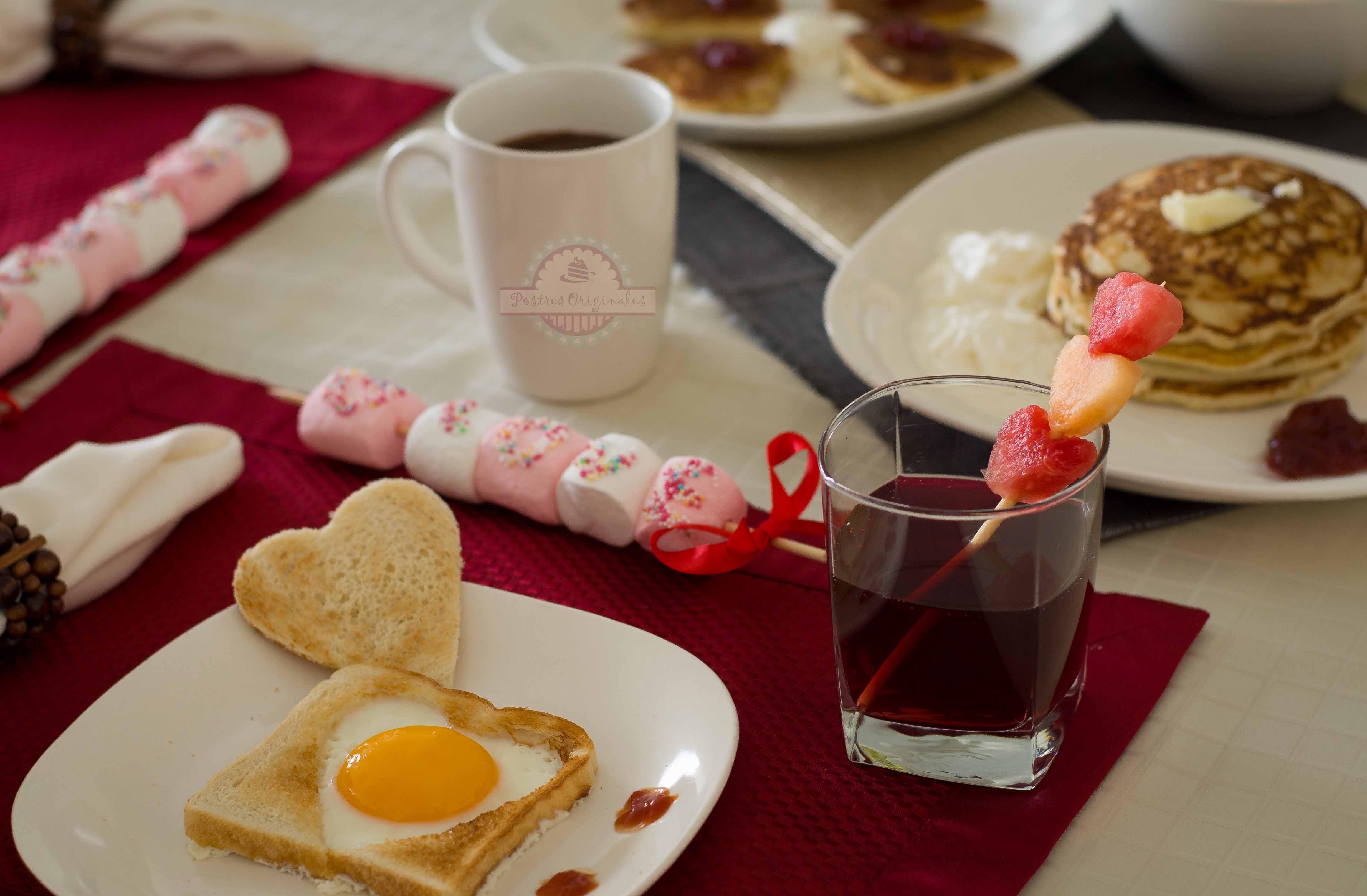 Desayuno para enamorar muy especial postres originales - Preparar desayuno romantico ...