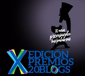 Participo en los Premios 20Blogs 2015